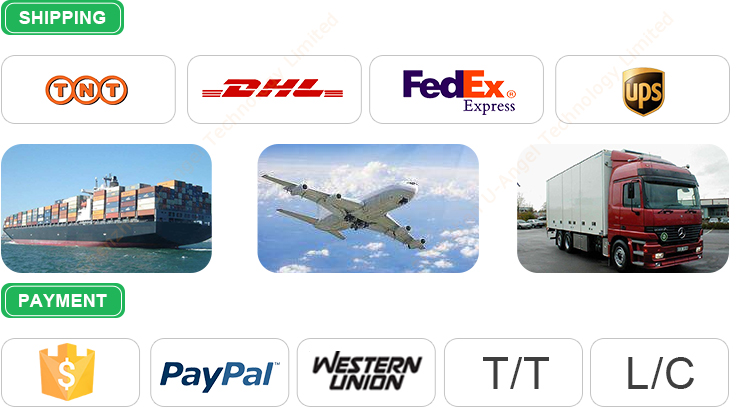 Our shipping and payment terms
