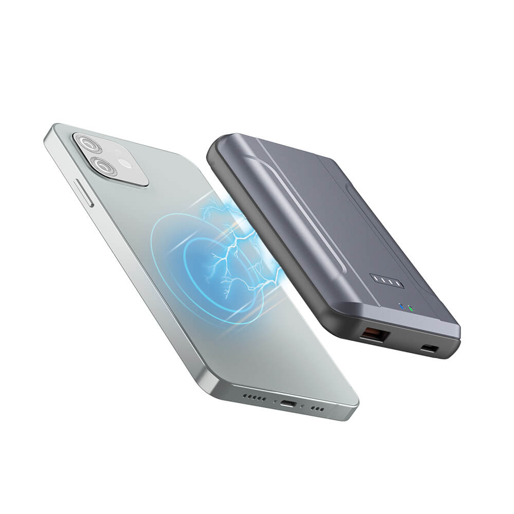 New Trend Fashion Mobile Phone Magnetic Portable Charger MagSafe Wireless Power Bank 10000mAh