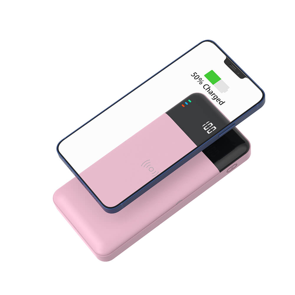 Portable Charger Wireless Charger 10000mAh Real Capacity 15W Wireless Power Bank With Qi-compatible for Samsung