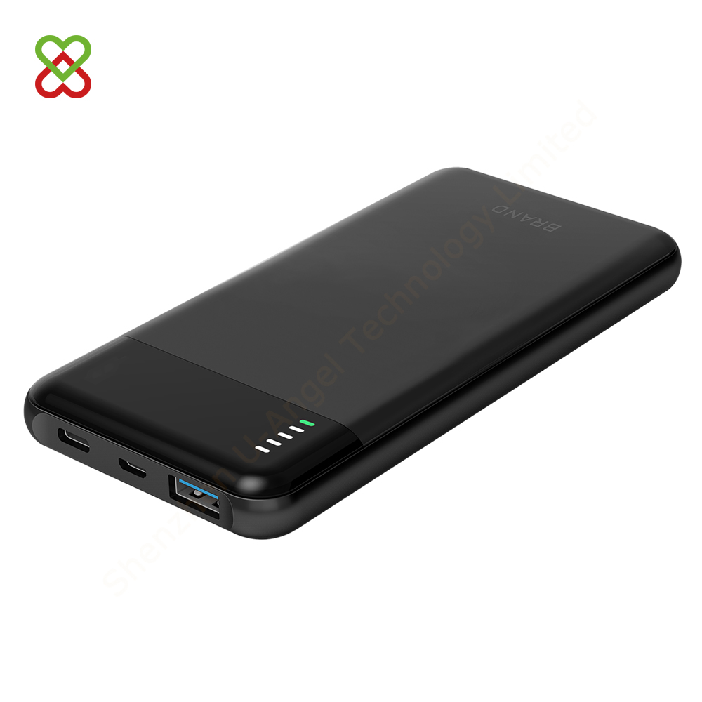 2018 latest logo custom 18W PD function super fast charging power banks 10000mAh