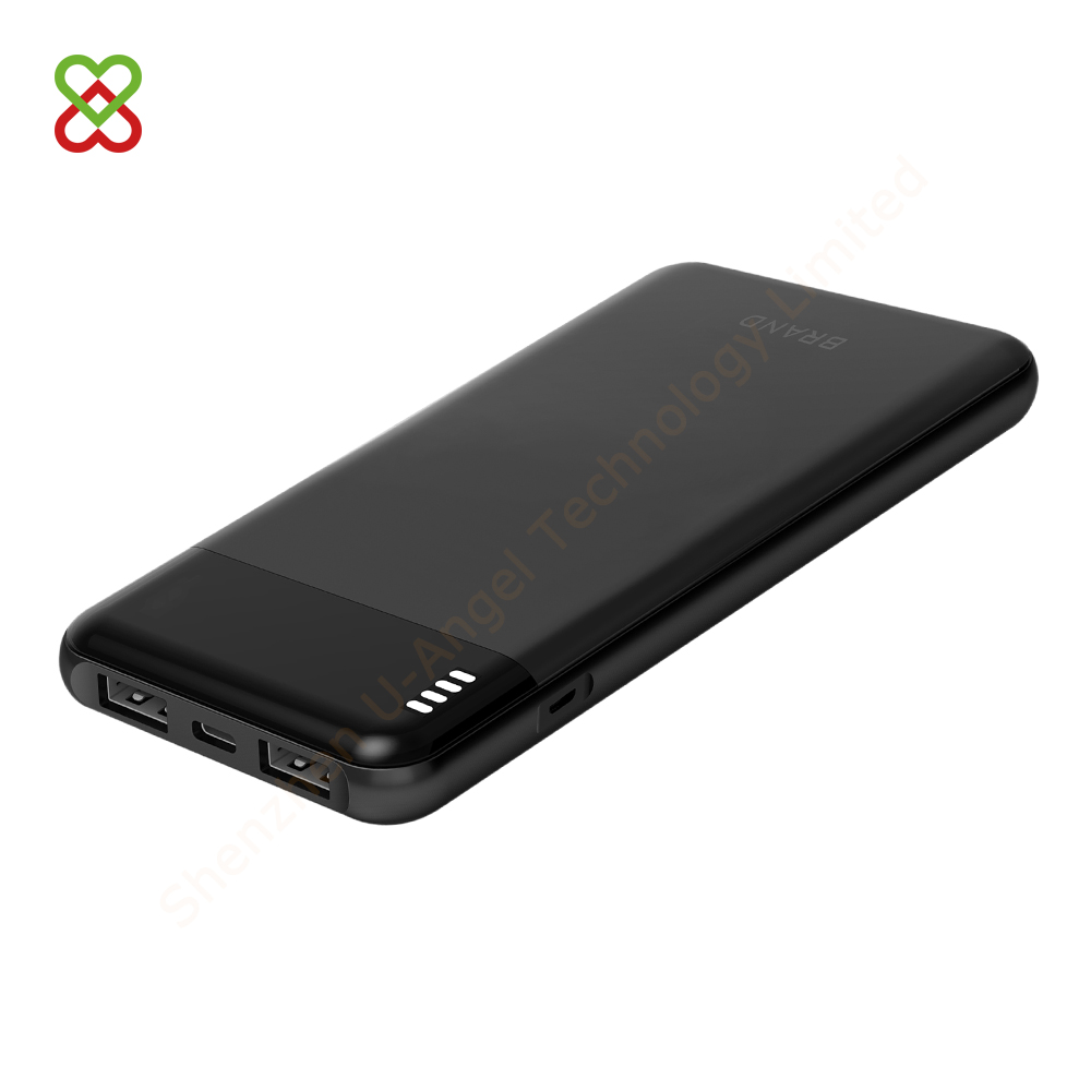 2A dual USB portable power bank polymer battery phone 10000mAh