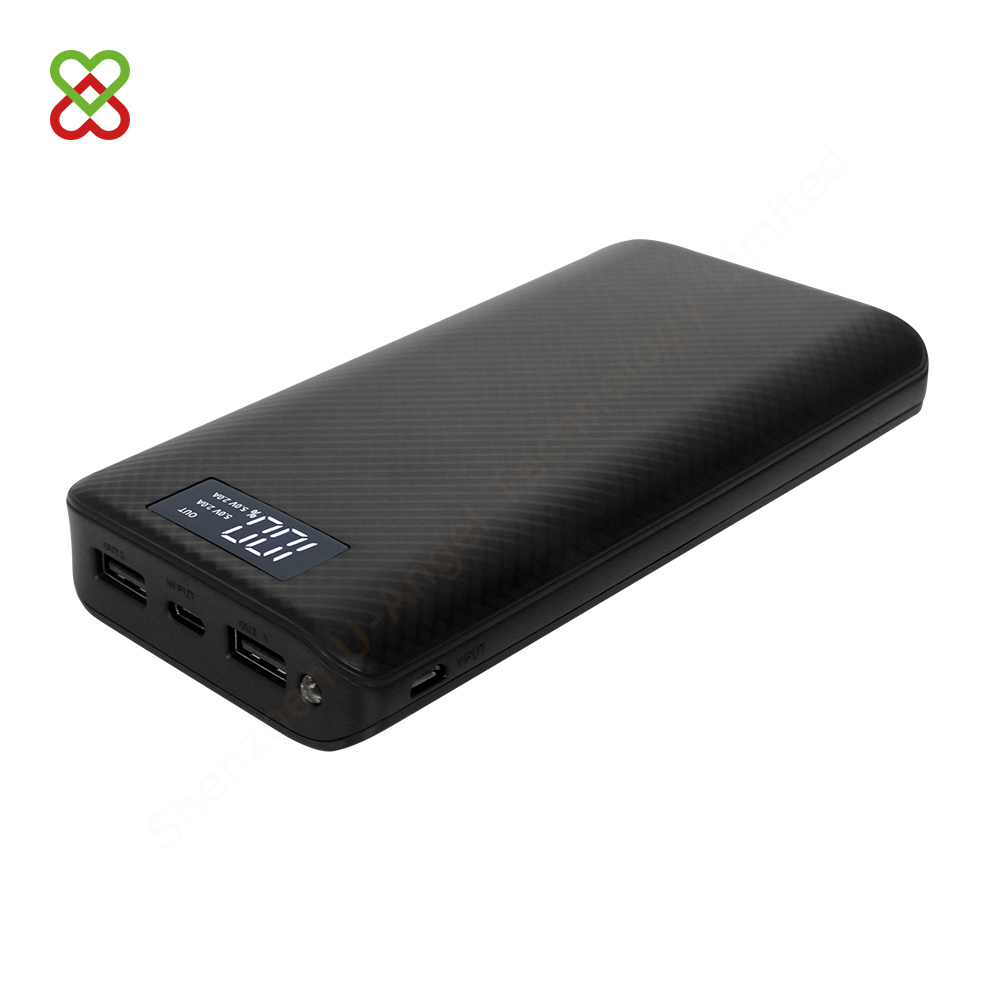 18650 super capacitor digital display RoHS mobile phone portable power bank 20000mAh 20000 mAh