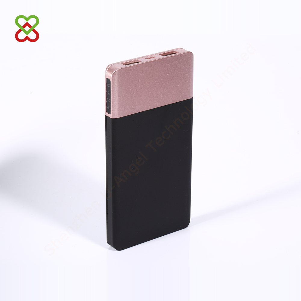 most popular unique design slim powerbank 5000mAh stylish power bank