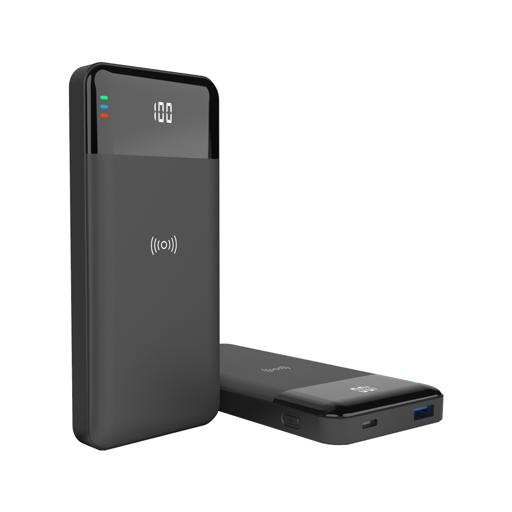 Portable Charger Wireless Power Bank 10000mAh PD3.0 QC3.0 18W Output 15W Fast Charge Power Bank Battery Charger