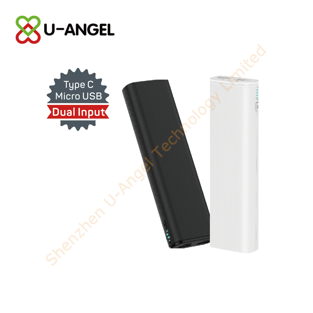 New Model power bank 8000mAh with light custom logo - USBAngel.com - Custom Power Banks, USB flash drives, Bluetooth and more products - A Verified CN Gold Supplier on Alibaba.com