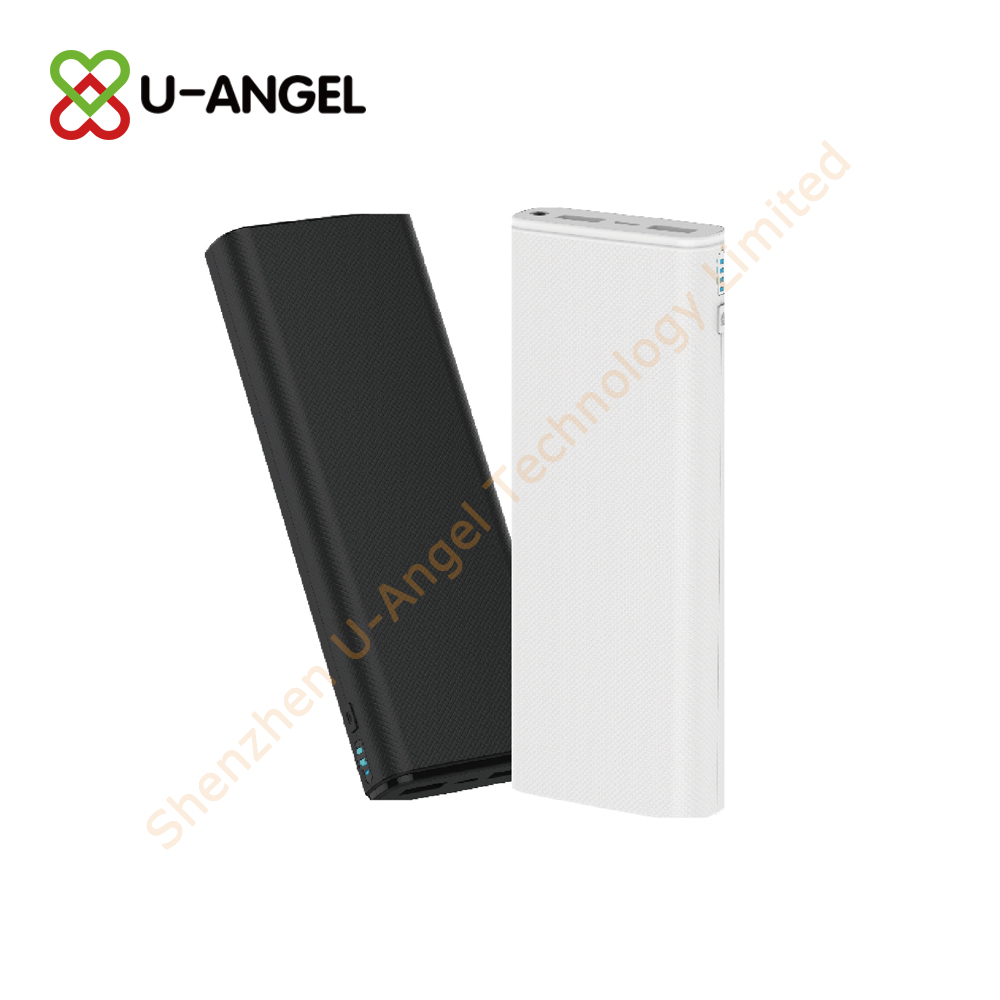 New Model power bank 12000mAh with light custom logo - USBAngel.com - Custom Power Banks, USB flash drives, Bluetooth and more products - A Verified CN Gold Supplier on Alibaba.com
