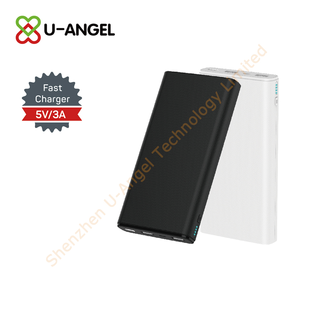 New Model power bank with light custom logo - USBAngel.com - Custom Power Banks, USB flash drives, Bluetooth and more products - A Verified CN Gold Supplier on Alibaba.com