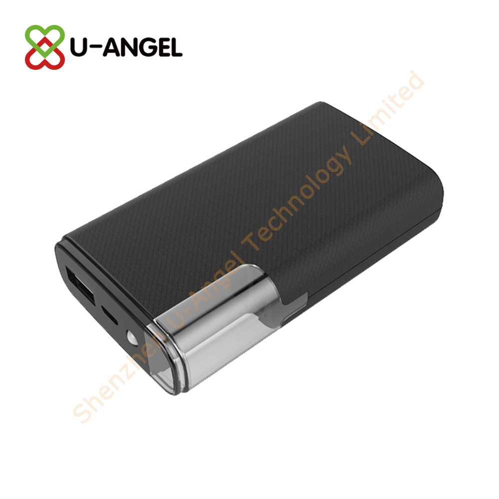 New Model power bank 6000mAh with light custom logo - USBAngel.com - Custom Power Banks, USB flash drives, Bluetooth and more products - A Verified CN Gold Supplier on Alibaba.com