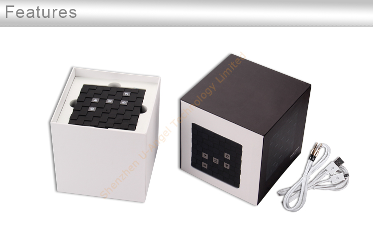 good quality compatible micro SD/TF mini Smart Speaker,with TF/FM hands free call wireless Smart Speaker