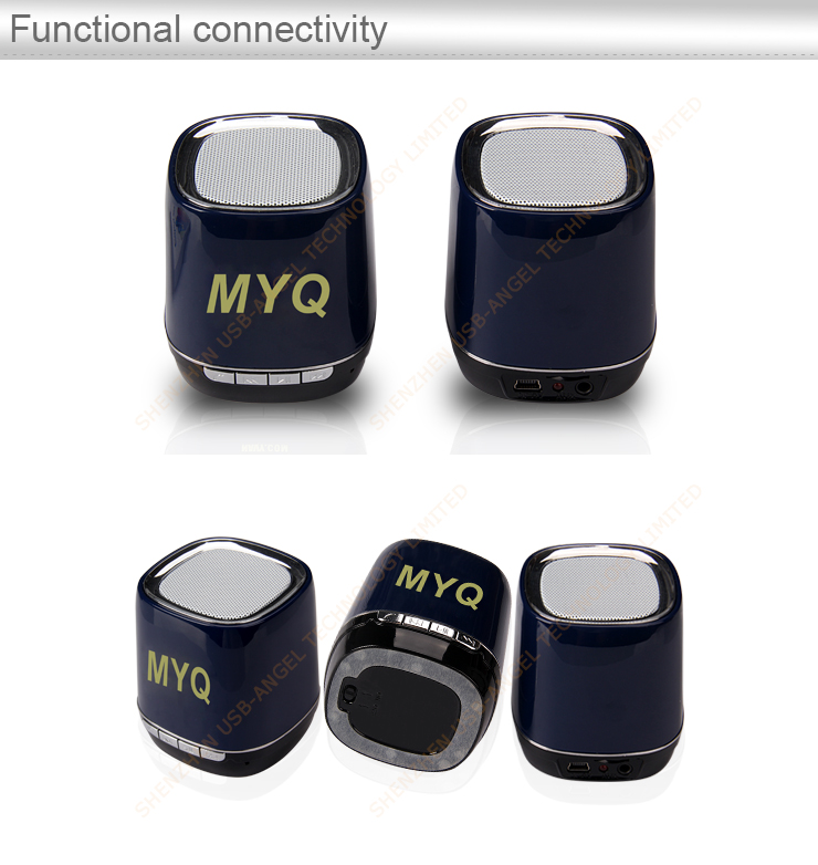 China Manufacturer direct wholesale bluetooth speaker, Shenzhen factory direct wholesale cheapest bluetooth speaker, low price fashionable universal portable power bank for promotion gift with customized logo